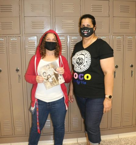 Spanish teachers Stephanie Weaver and Haydee Mas participate in one of the Homecoming week dress-up days. Student Council sponsors the event each year. Students interested in joining can attend a meeting on Mondays after school.