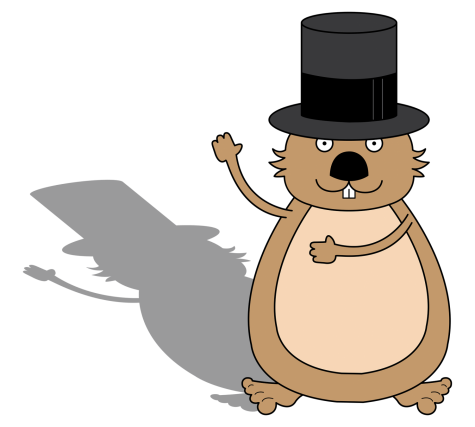 Groundhog prepares to predict weather
